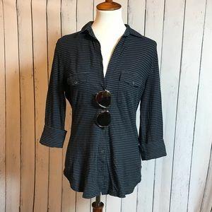 Sleek James Perse Button Up Shirt